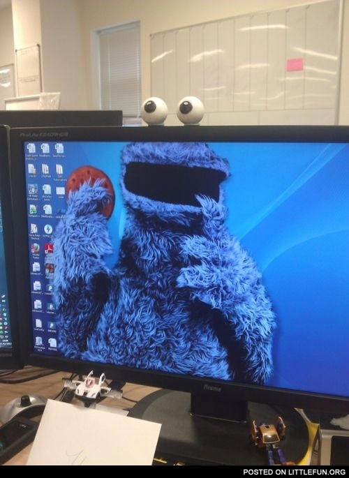Creative idea for your monitor