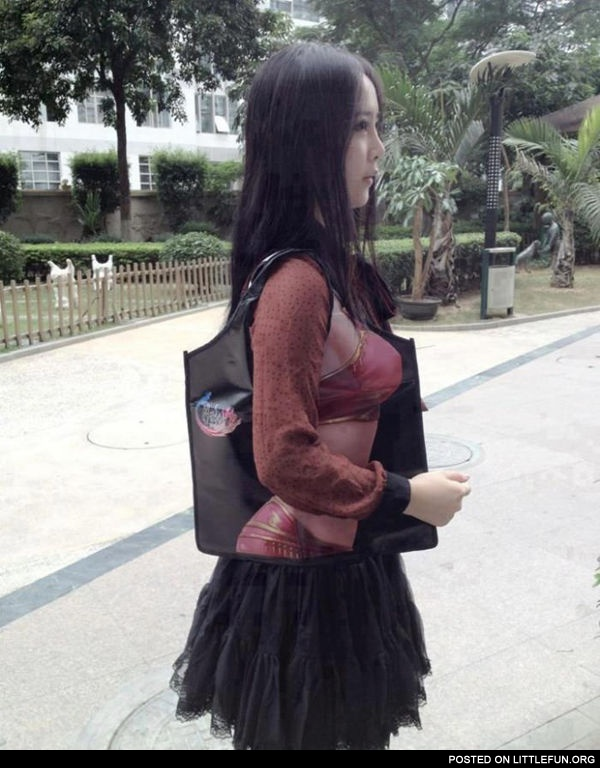 Unusual handbag