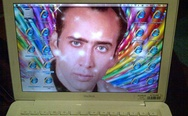 MacBook Nicolas Cage screen