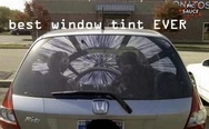 Best window tint ever. Star wars window tint.