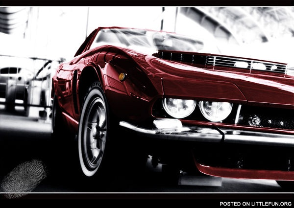 Muscle car by ~ArcAngelTyrael