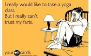 I really would like to take a yoga class