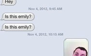 iPhone sms: Emily