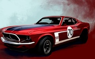 Ford Mustang Boss 302 Classic
