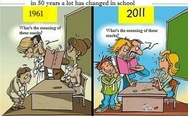 Changes in school