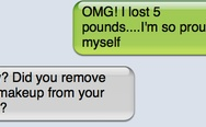 OMG! I lost 5 pounds