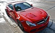 Mercedes SL65 AMG Red