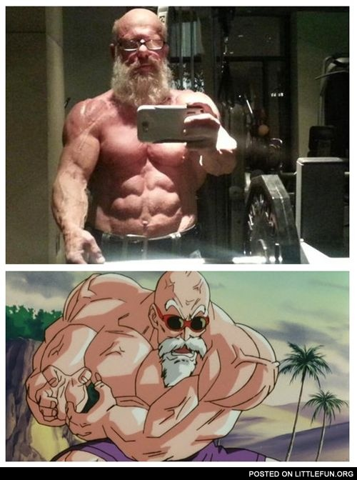 Roshi Spotted in Real Life