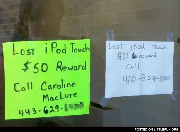 Lost iPod Touch