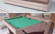Billiards sofa