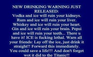 New Drinking Warning Just Released