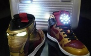 "Nike Dunk High ""Ironman"" by More Than Art To Wear"