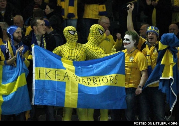 Ikea warriors