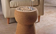 Giant Champagne Cork Stool/Table