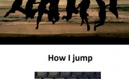 How normal people jump