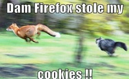Firefox stole my cookies