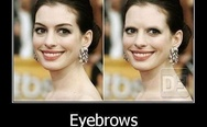 Eyebrows, they mean something