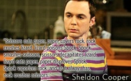 Sheldon Cooper little game