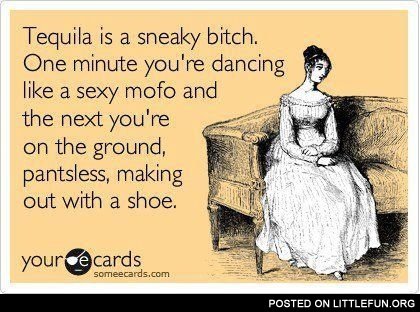 Sneaky tequila