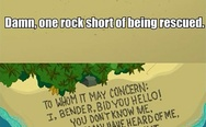 One rock short