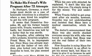 Paid to do it, but fails to make his friend's wife pregnant after 72 attempts