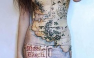 Middle Earth dress