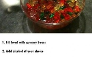 Magic gummy bears