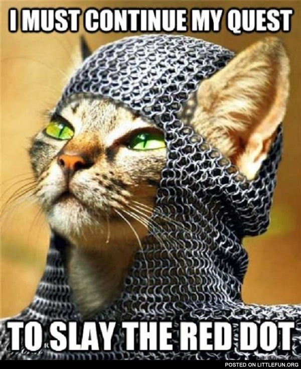 Slay the Red Dot