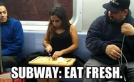 Subway, eat fresh