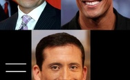 Steve Carell + The Rock?