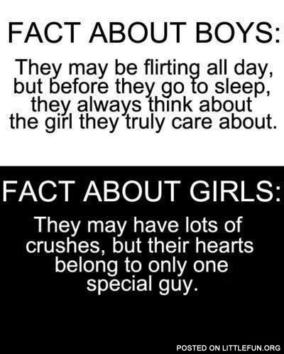 Facts About Boys & Girls