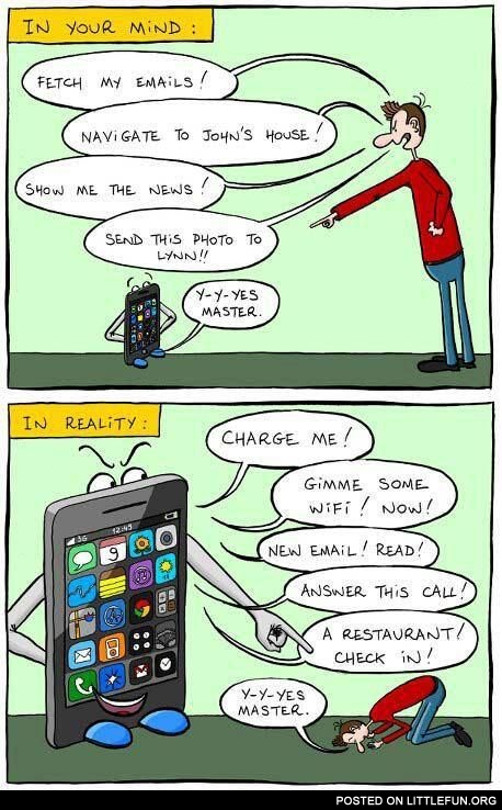 Your phone and reality