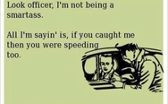 Look officer