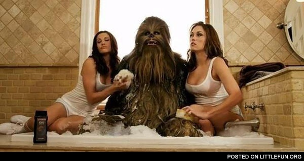 Chewbacca like a boss