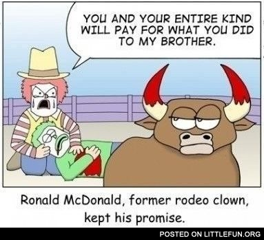McDonald and his promise