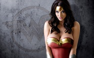 Alice Goodwin as Wonder Woman (photoshopped)