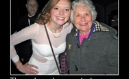 Grandpa photobombs