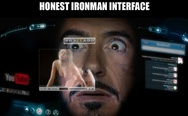 Honest Iron Man interface