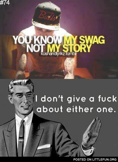 My swag