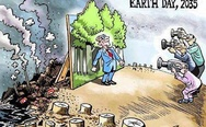 Earth day 2035