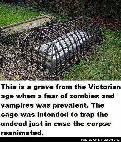 Grave from the Victorian age