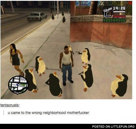 Wrong neighborhood GTA