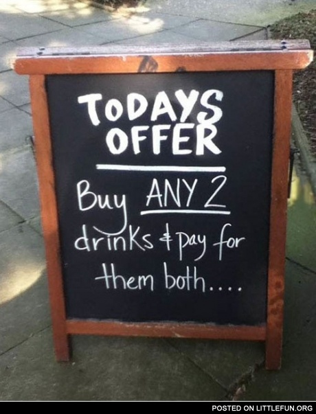 Todays offer