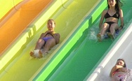 Scary water slide