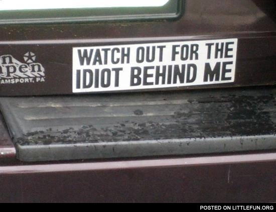 Truthful license plate