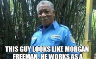This guy looks like Morgan Freeman