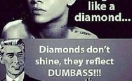 Diamonds don't shine, Rihanna