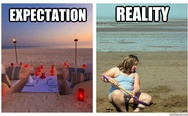 Expectation vs. Reality
