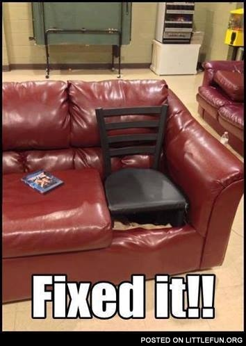 Couch fixed