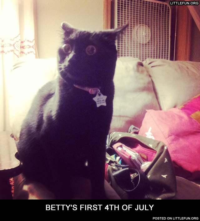 Betty's first 4th of July
